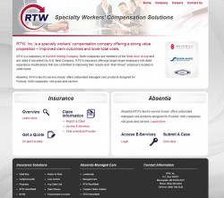 RTW worker's compensation solutions website
