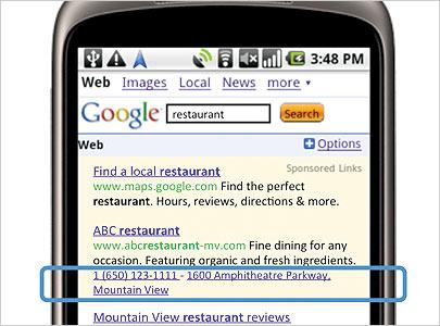 mobile marketing ads