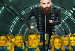 paul from big brother with minions