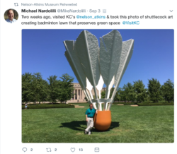 nelson atkins museum of art twitter retweet